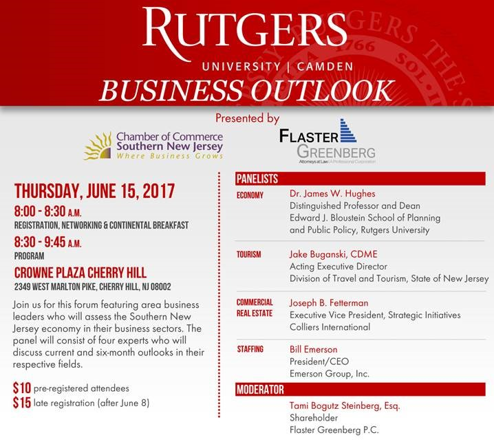 Rutgers Business Outlook June 2017